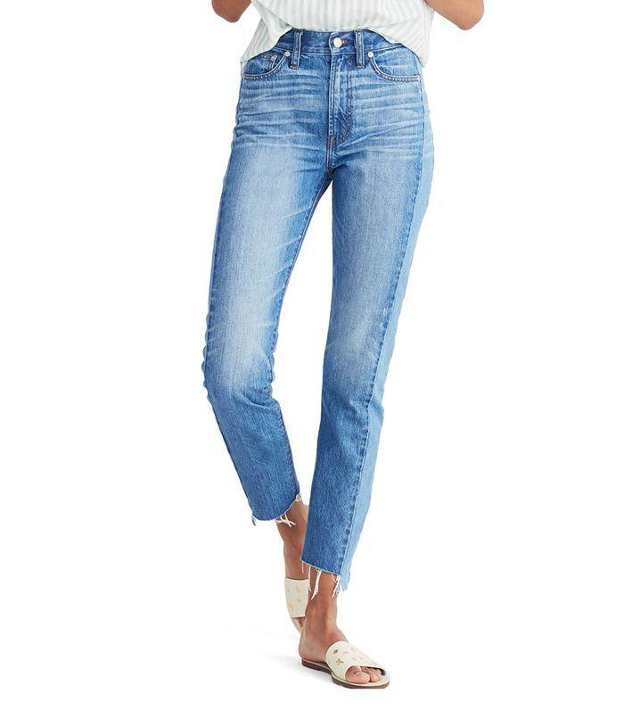 Perfect Summer High Waist Pieced Jeans