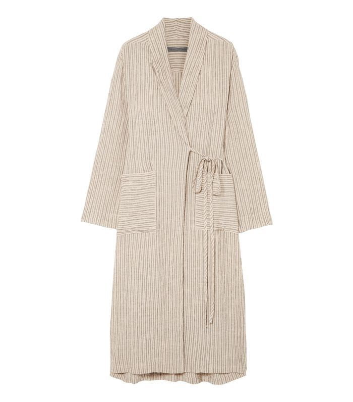 Striped Jacquard Robe