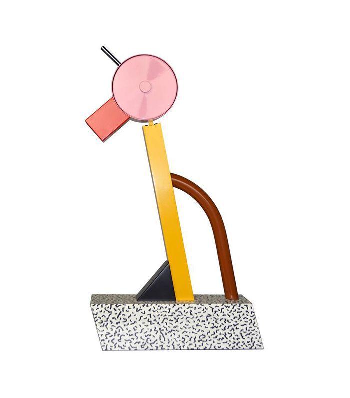 Ettore Sottsass para la lámpara Memphis Tahiti