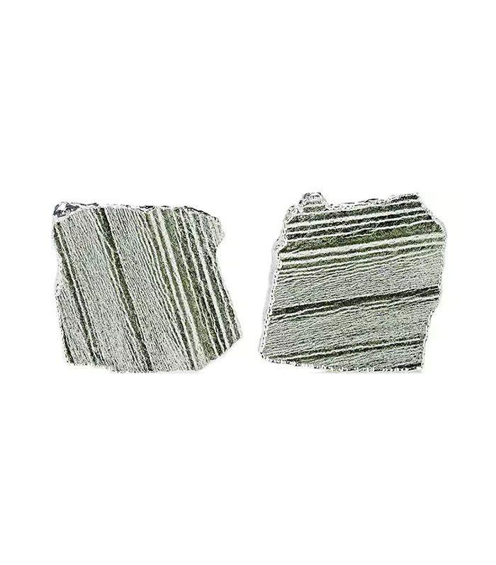 Set Of 2 Kivita Zebra-Jade Coasters