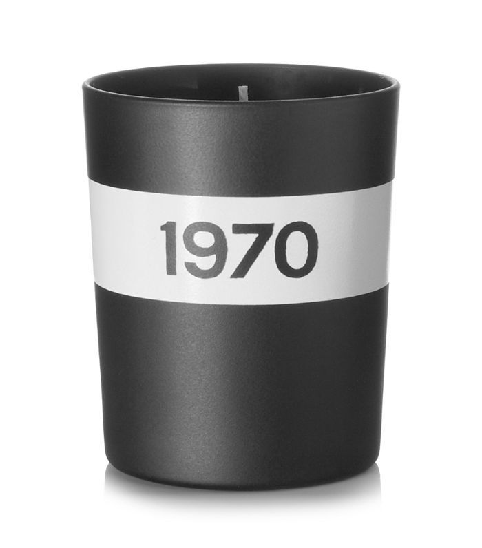 1970 Black Musk And Patchouli Scented Candle