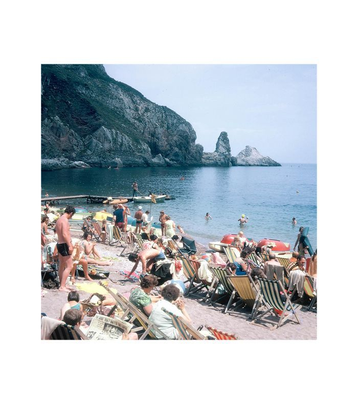 Lyon and Finch Vintage 1960s England Ainsley's Cove Photograph Print