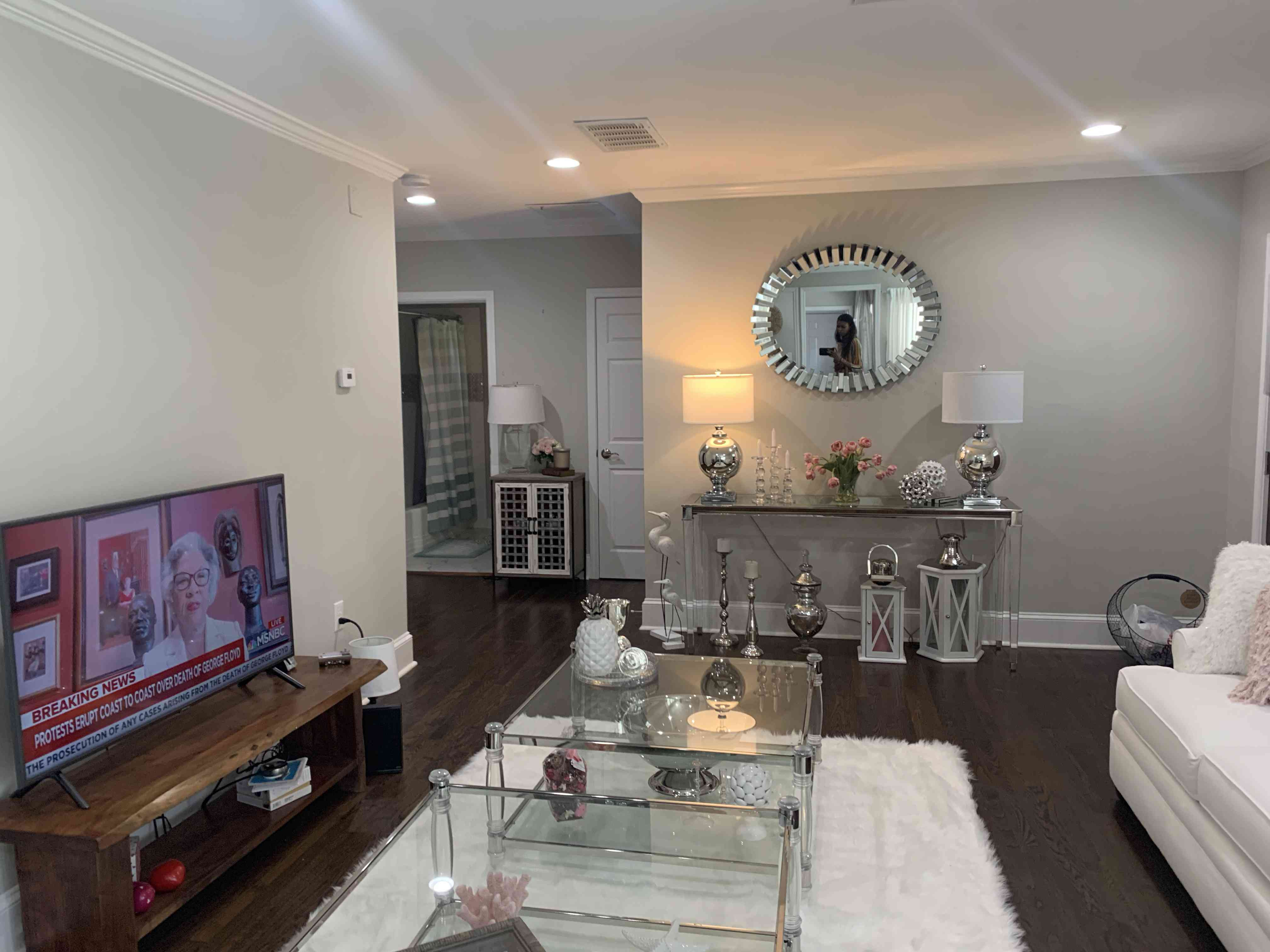 makeover of the week - interior design by S&S, living room before