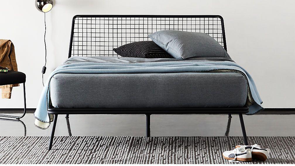 mesh bed frame