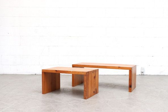 Ate Van Apeldoorn Side Coffee Table or Bench