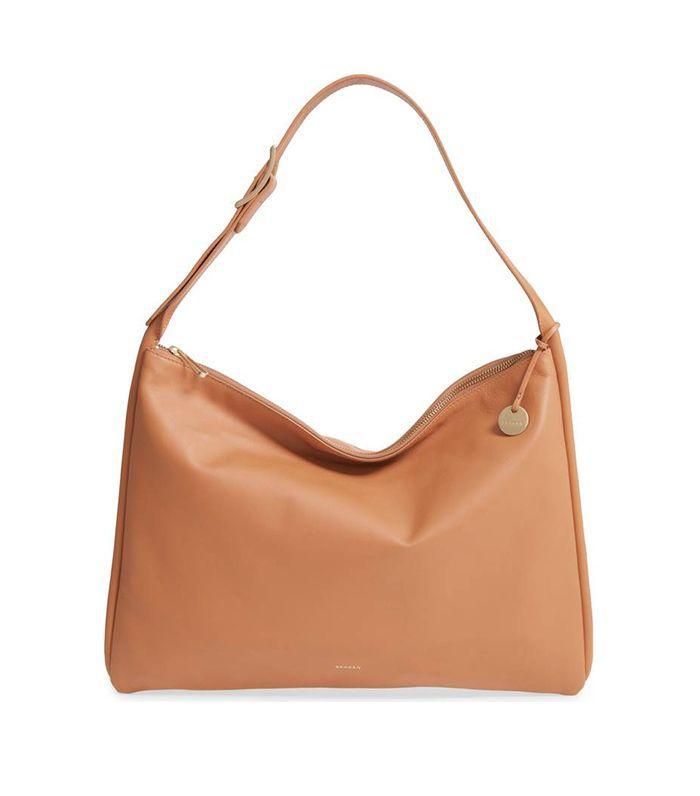 Anesa Leather Shoulder Bag -