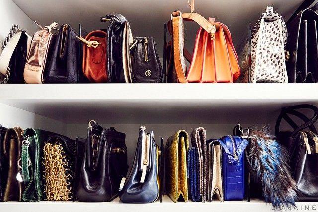 Jaime King's purse storage