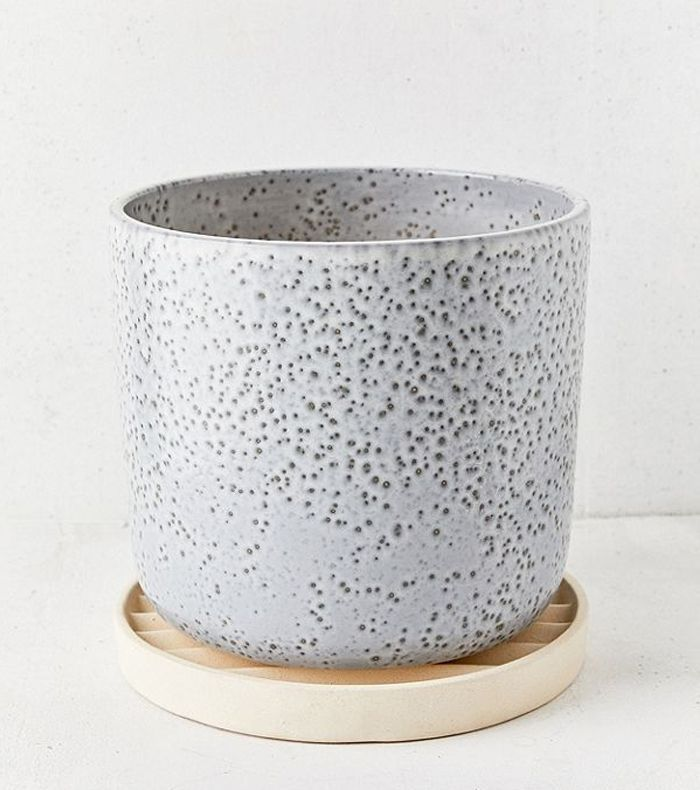 Mod Metal 3 Planter - Gold One Size at Urban Outfitters