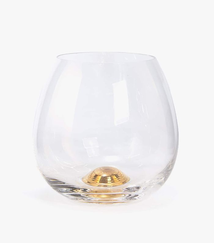 Zara Home Tumbler with Gold Sphere Base