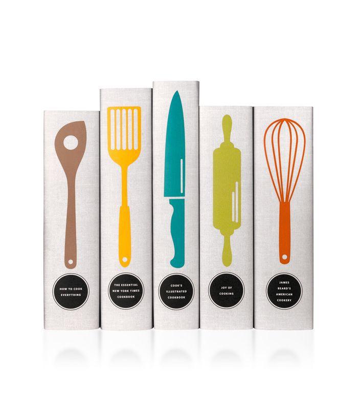 Classic Cookbooks - Utensils Book Set