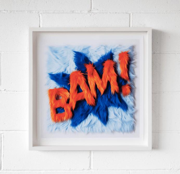 BAM! Framed Work - Andy Blank