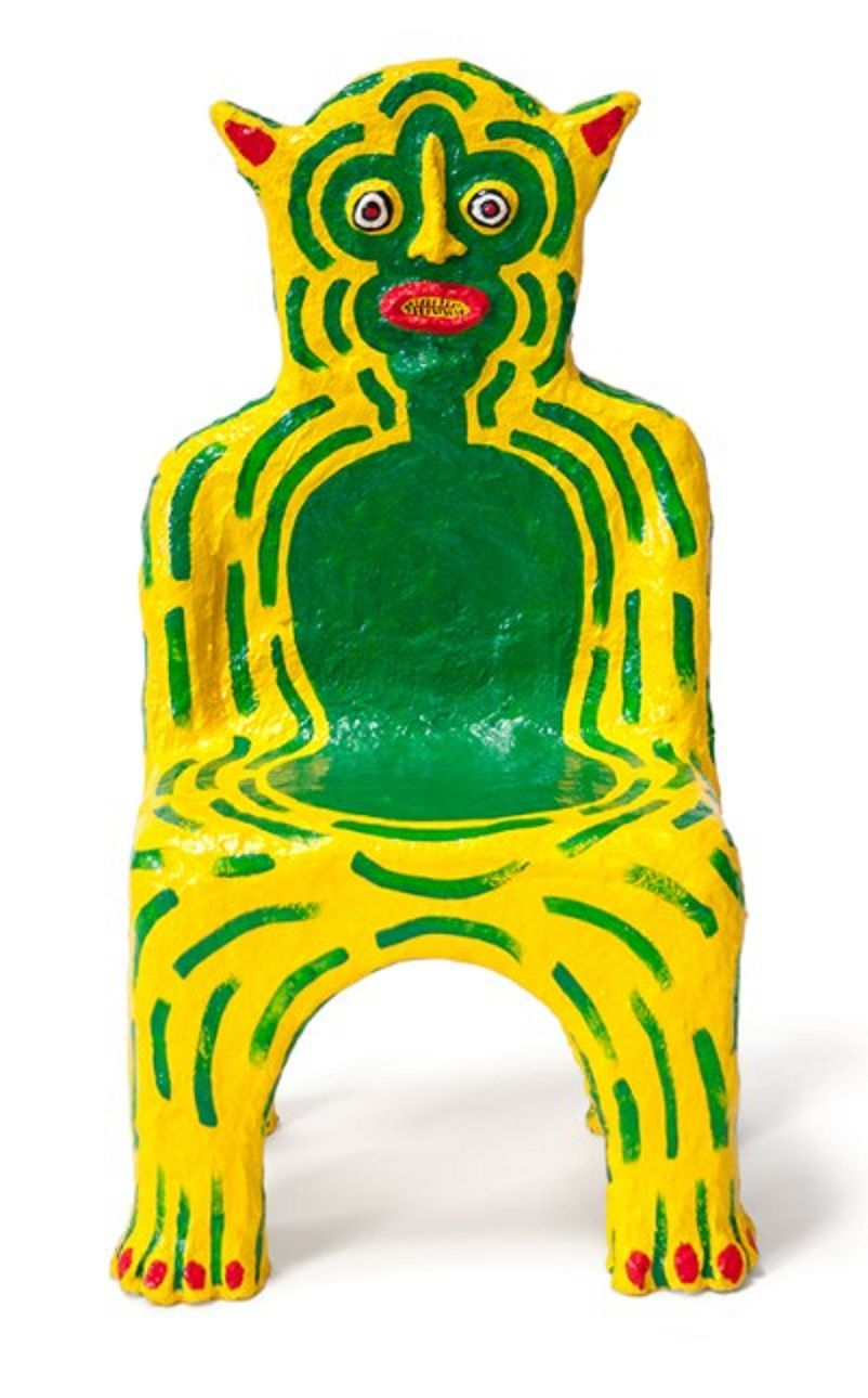 Yellow Creature Child Chair