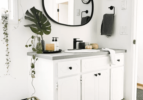 25 Best Bathroom Countertop Storage Ideas, Small Bathroom Countertops