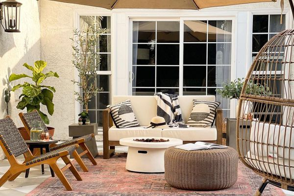Pretty on Fridays outdoor space.