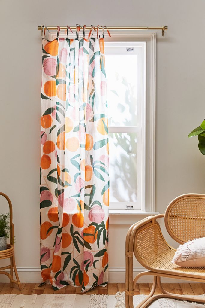 Urban Outfitters Allover Fruits Window Panel