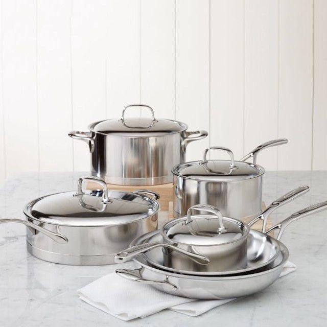 Demeyere Atlantis Stainless Steel Cookware Set