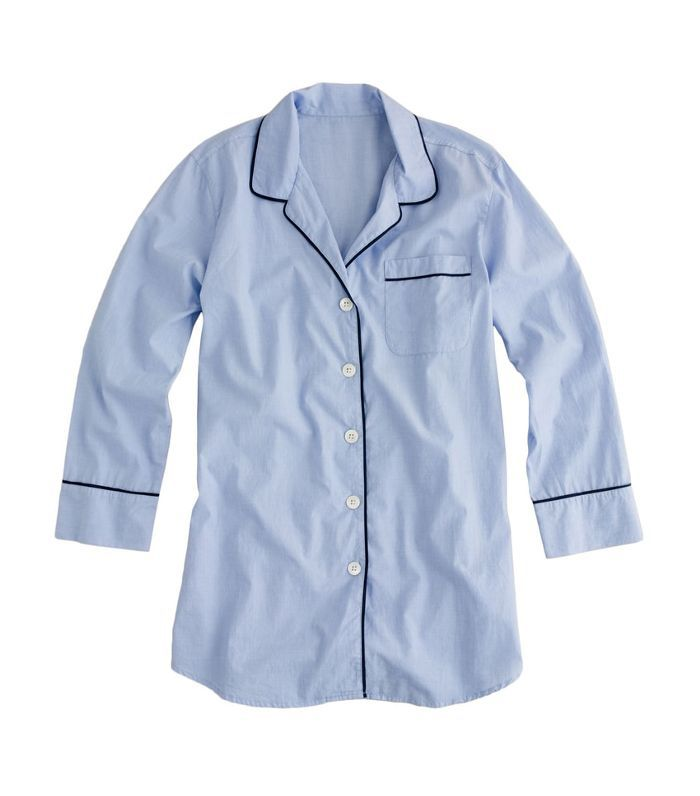 Women's J.crew End On End Sleep Shirt