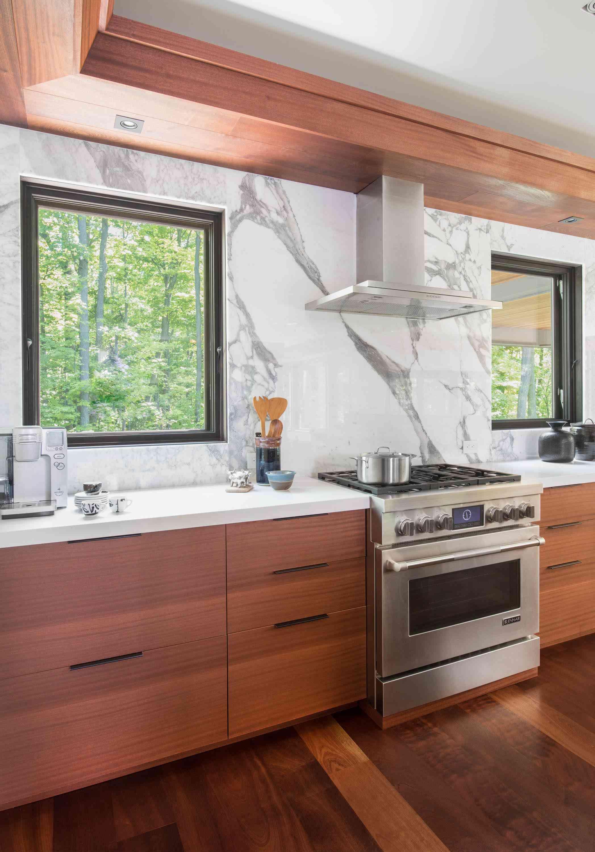 Wooden modern cabinets