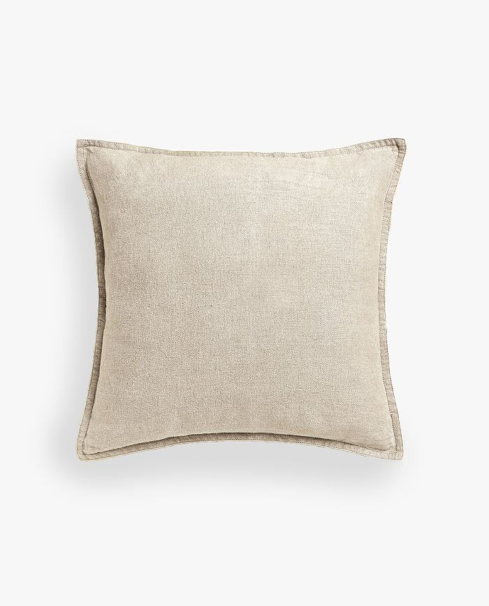 Zara Home Linen Throw Pillow Cover