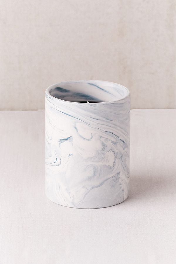 Marble Ceramic Soy Candle