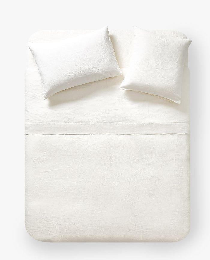 Zara Home Washed Linen Duvet Cover