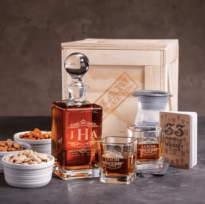 Whiskey Appreciation Crate - Dude Crates