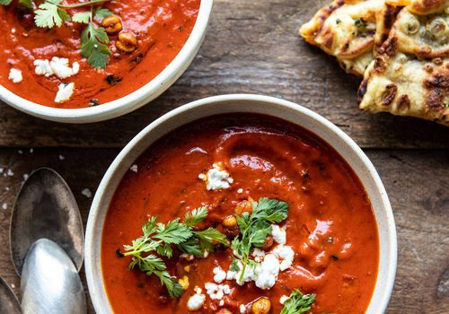 sopa de tomate marroquí