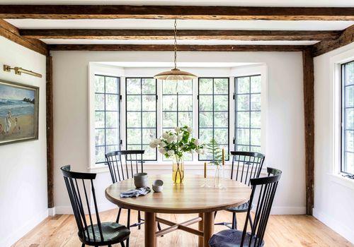 Rustic dining room
