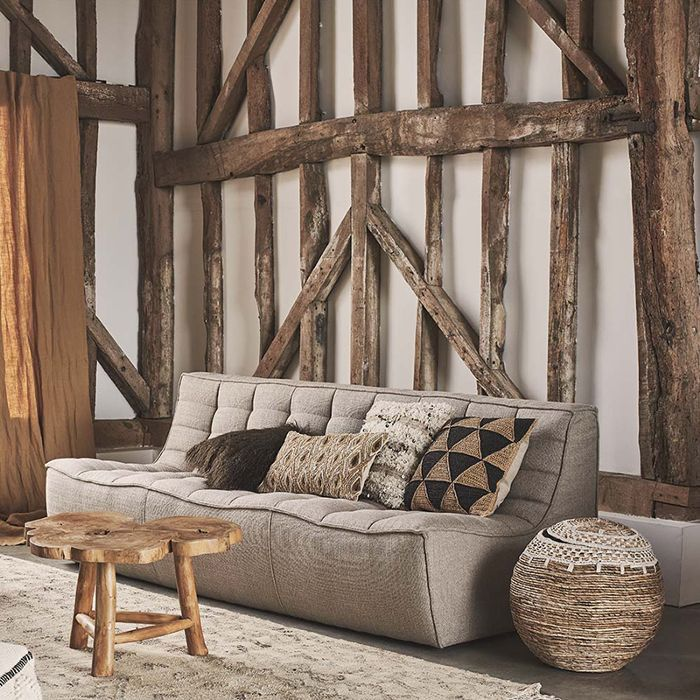 Rustic Living Room Décor