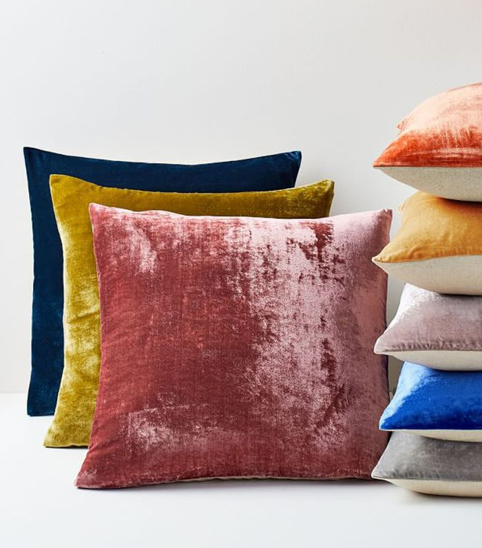 West Elm Lush Velvet Pillow Covers