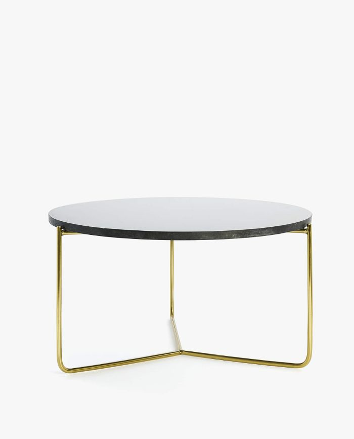 Zara Home Large Black Marble Table