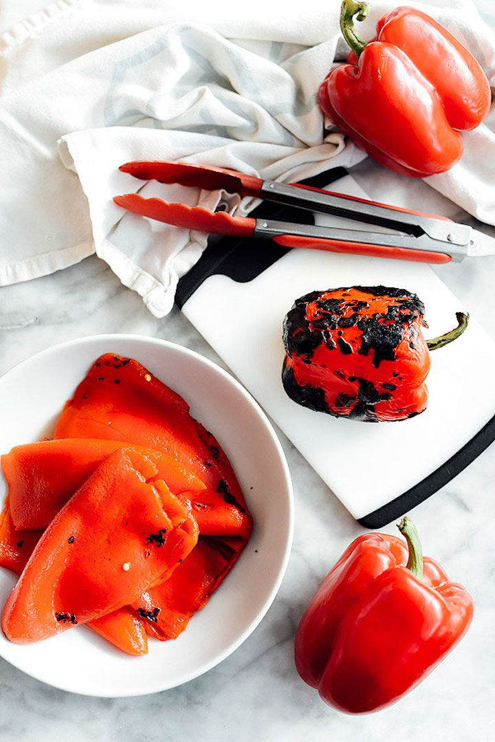 How to Roast Red Peppers To Perfection Every Time