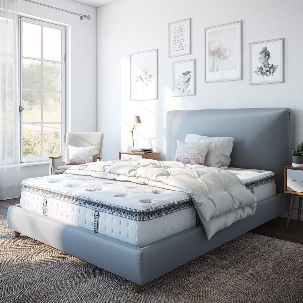 Mercer Pillow Top Cool Gel Memory Foam and Innerspring Hybrid 12