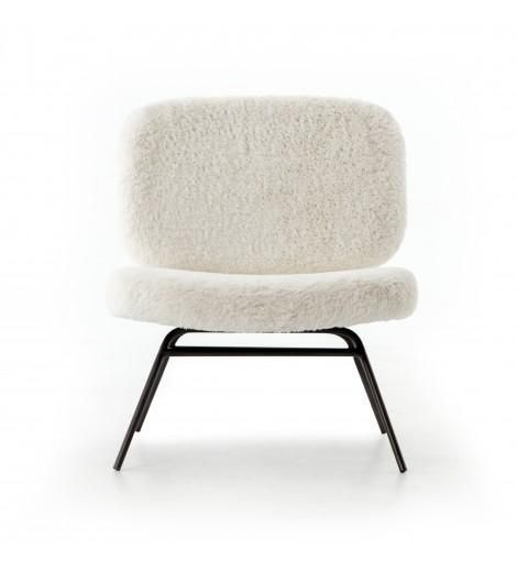 Amanda Accent Chair, Ivory