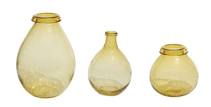 Threshold Threshold Gold Glass Vases