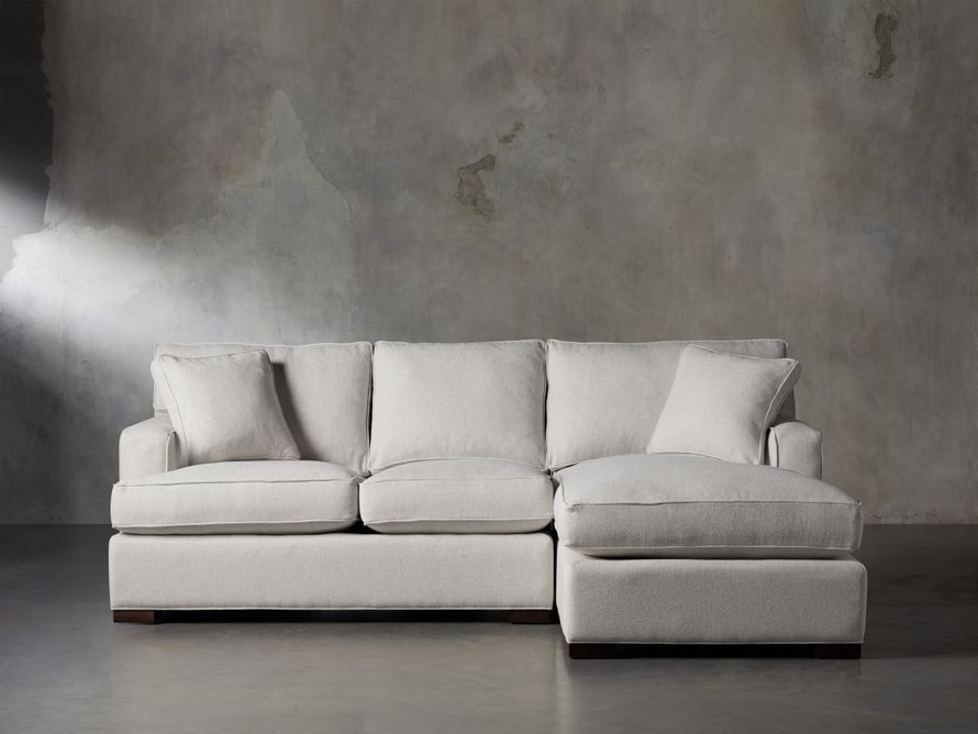 dune two piece sectional arhaus