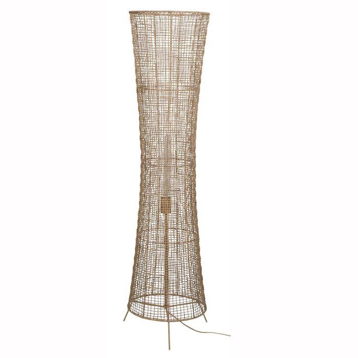 Project 62 and Leanne Ford Natural Woven Ambient Floor Lamp Natural (Includes Energy Efficient Light Bulb)