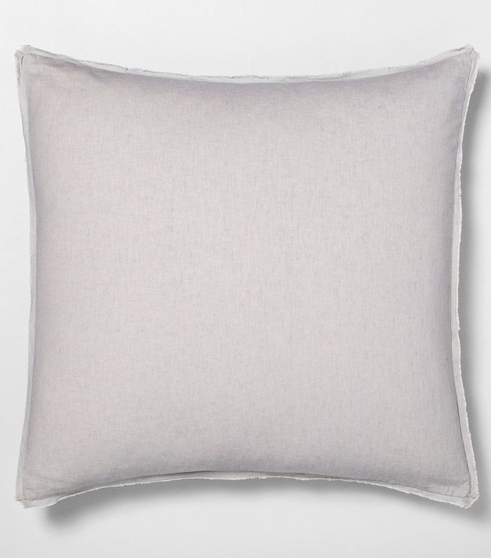 Hearth & Hand with Magnolia Linen Blend Pillow Sham in Jet Gray