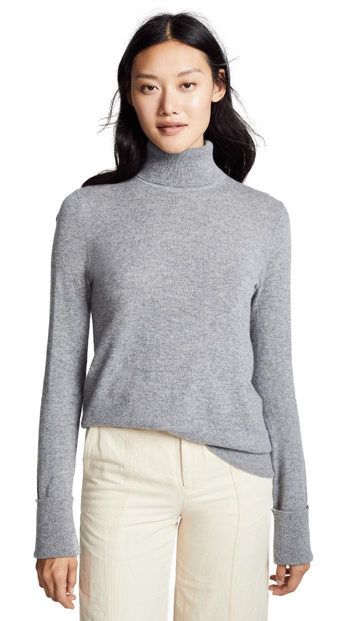 Ully Cashmere Turtleneck Sweater