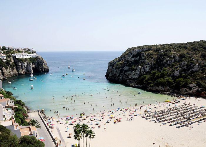 Lugares de vacaciones españoles: Menorca