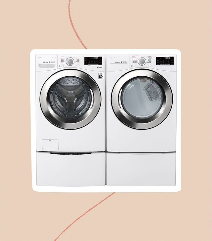 LG Ultra Large Front Load Washer and Dryer (WM3700HWA/DLEX3700W)