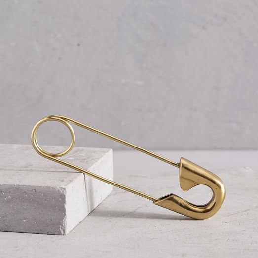 West Elm Safety Pin