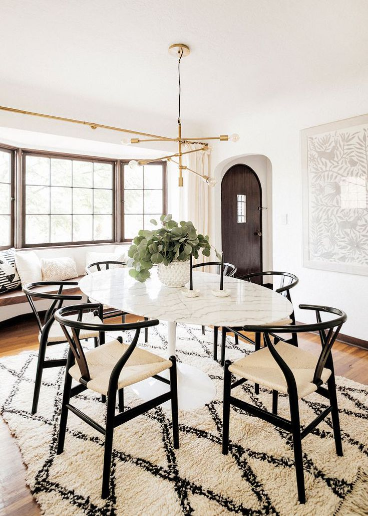 Mid Century Modern Dining Room Design Ideas