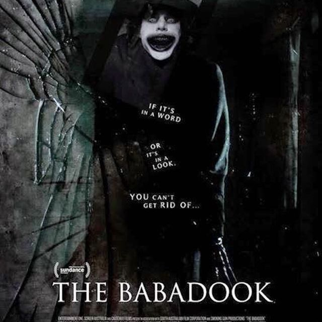 The Babadook (2014) movie poster.