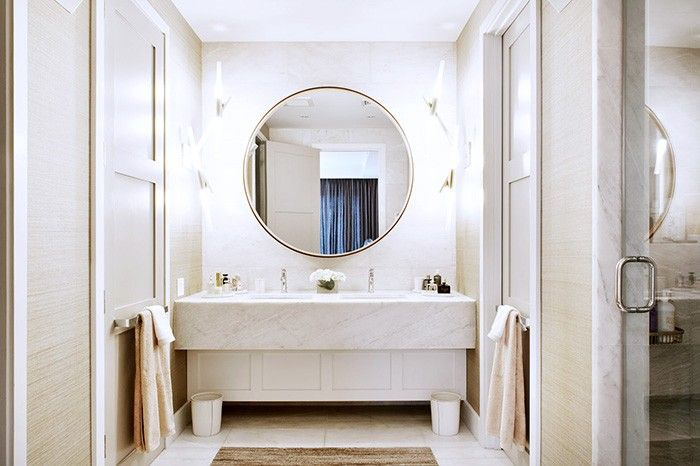 11 Ways To Style Large Round Mirrors