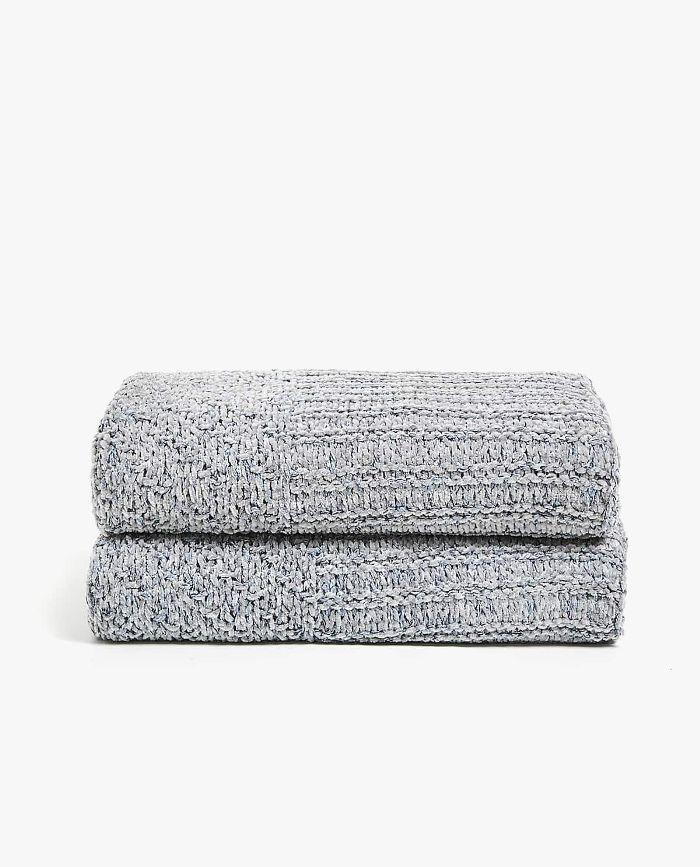 Zara Home Chenille Melange Blanket