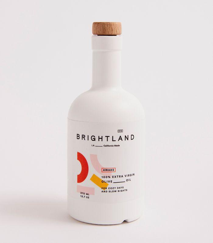 Bottle of Brightland Awake California olive oil