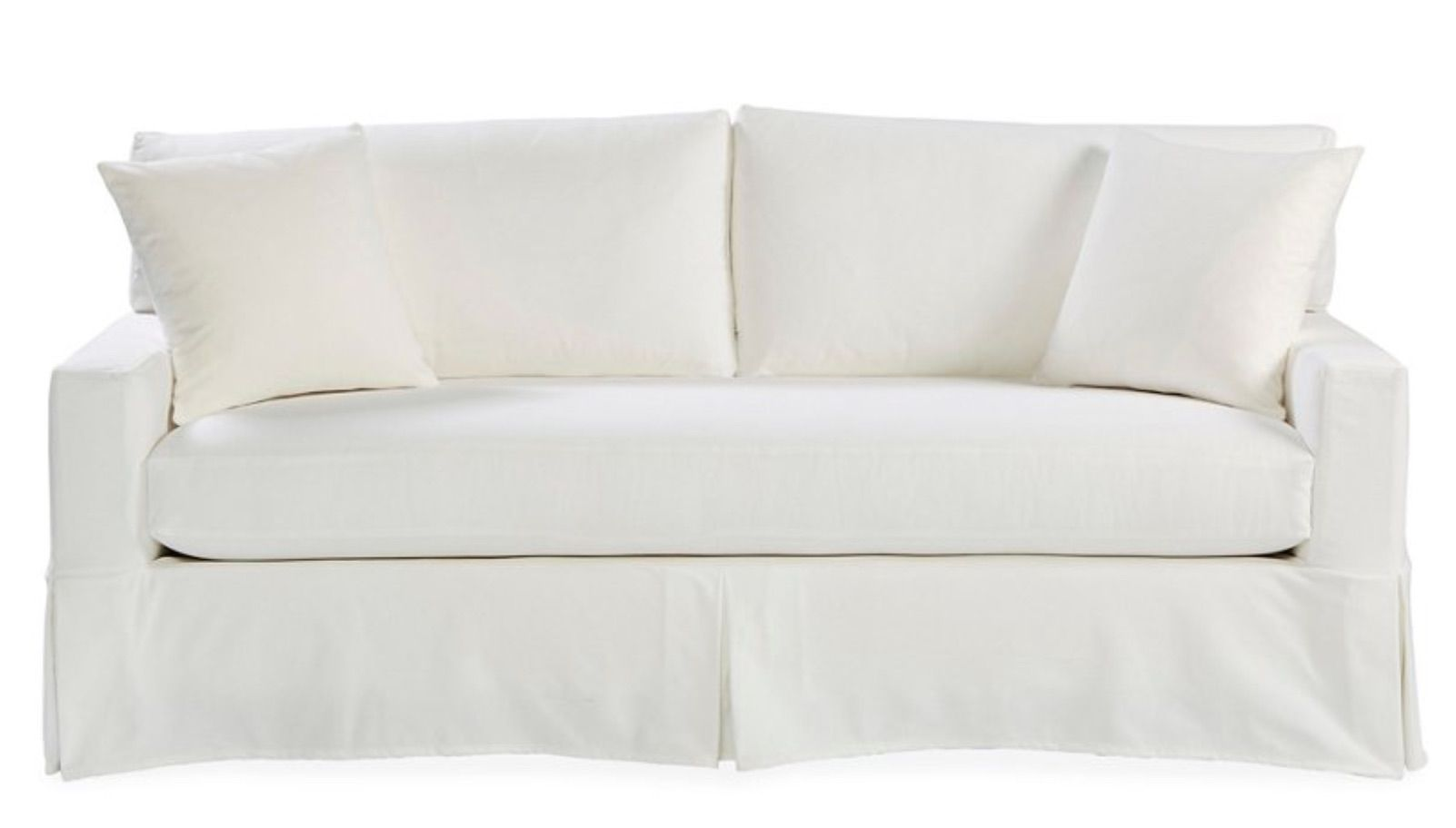 One Kings Lane Liza Slipcovered Sofa