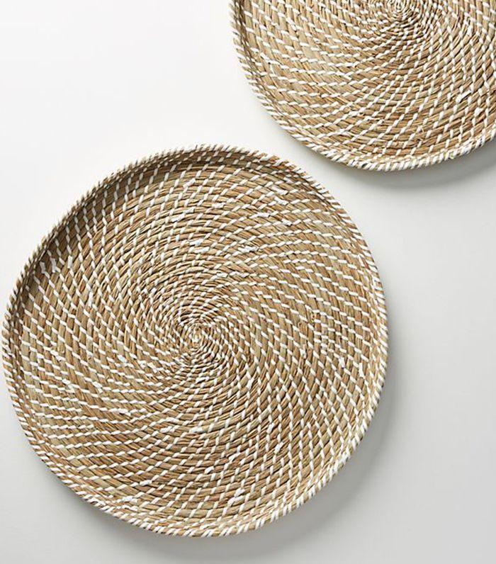 Seagrass Tray Set