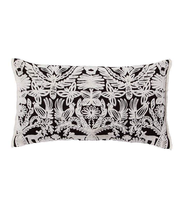 Target Black and White Global Animal Lumbar Throw Pillow